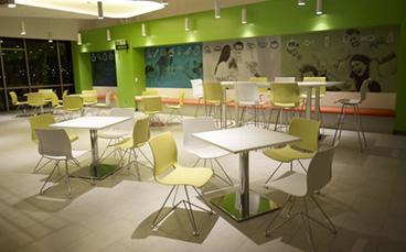 Cafeteria, Pause & Veranstaltung